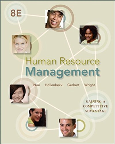 test bank for Human Resource Management: Gaining a Competitive Advantage 8th Edition的图片 1