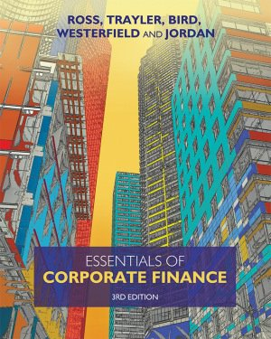 test bank for Essentials of Corporate Finance 3rd Australian edition的图片 1