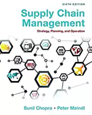 solution manual for Supply Chain Management: Strategy, Planning, and Operation 6th Edition的图片 1