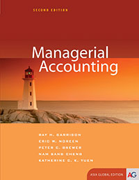 solution manual for Managerial Accounting 2nd Asia Global edition的图片 1
