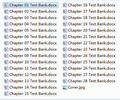 test bank for Investments 11th Edition的图片 2