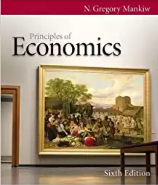solution manual for Principles of Economics 6th Edition的图片 1