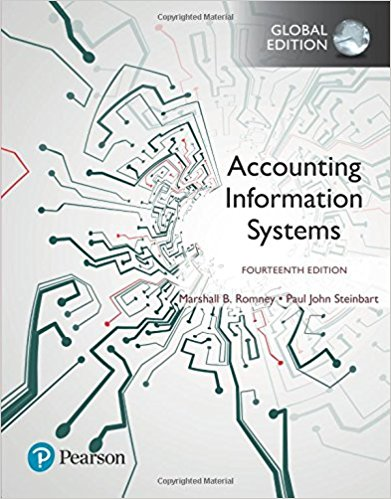 test bank for Accounting Information Systems 14th Global Edition的图片 1