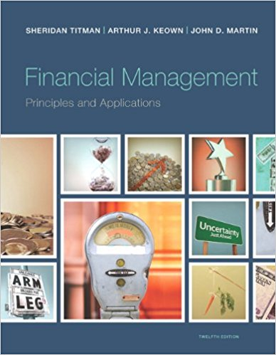 test bank for Financial Management: Principles and Applications 12th Edition的图片 1