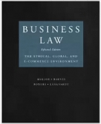 test bank for Business Law 15th Edition by Jane P. Mallor