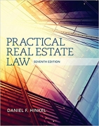solution manual for Practical Real Estate Law 7th Edition