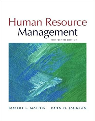 solution manual for Human Resource Management 13th Edition by Robert L. Mathis的图片 1