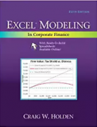 solution manual for Excel Modeling in Corporate Finance 5th Edition
