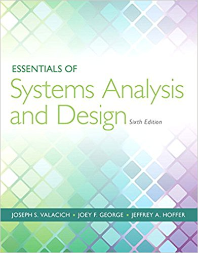 solution manual for Essentials of Systems Analysis and Design 6th Edition的图片 1