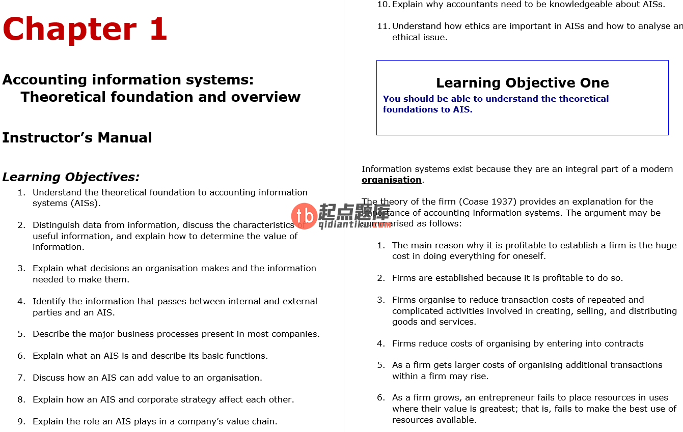 solution manual for Accounting Information Systems Australasian edition by Romney的图片 3