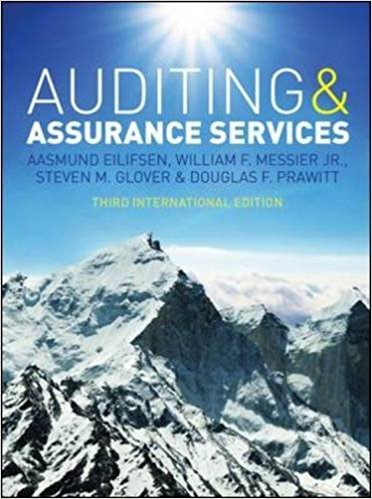 solution manual for Auditing & Assurance Services 3rd International Edition的图片 1