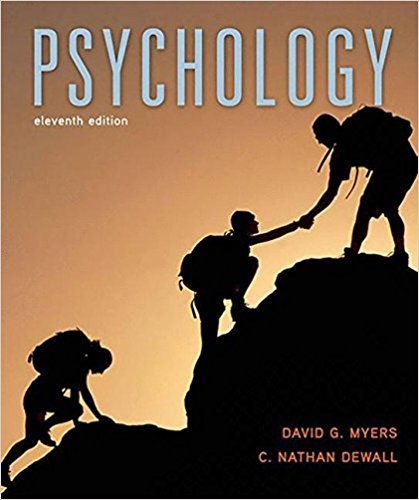 test bank for Psychology 11th Edition by David G. Myers的图片 1