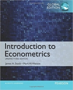 solution manual for Introduction to Econometrics Update 3rd Global Edtion