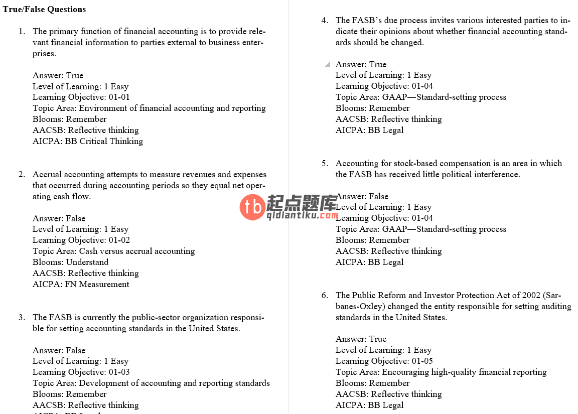 test bank for Intermediate Accounting 9th Edition的图片 3