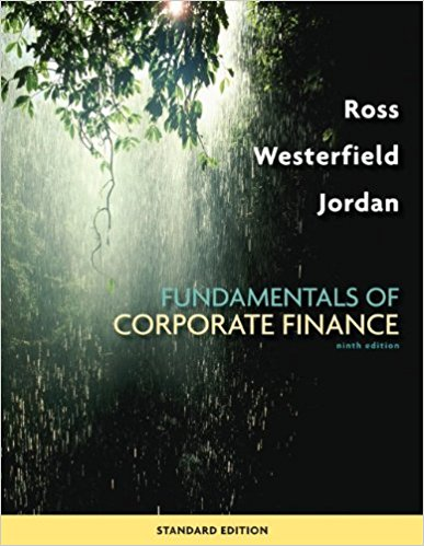 test bank for Fundamentals of Corporate Finance 9th Standard Edition的图片 1