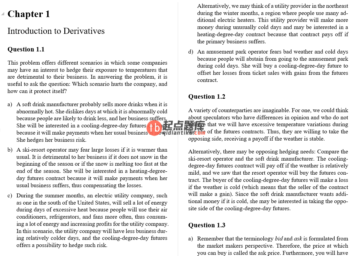 solution manual for Derivatives Markets 3rd Edition的图片 3