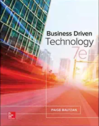 solution manual for Business Driven Technology 7th Edition的图片 1