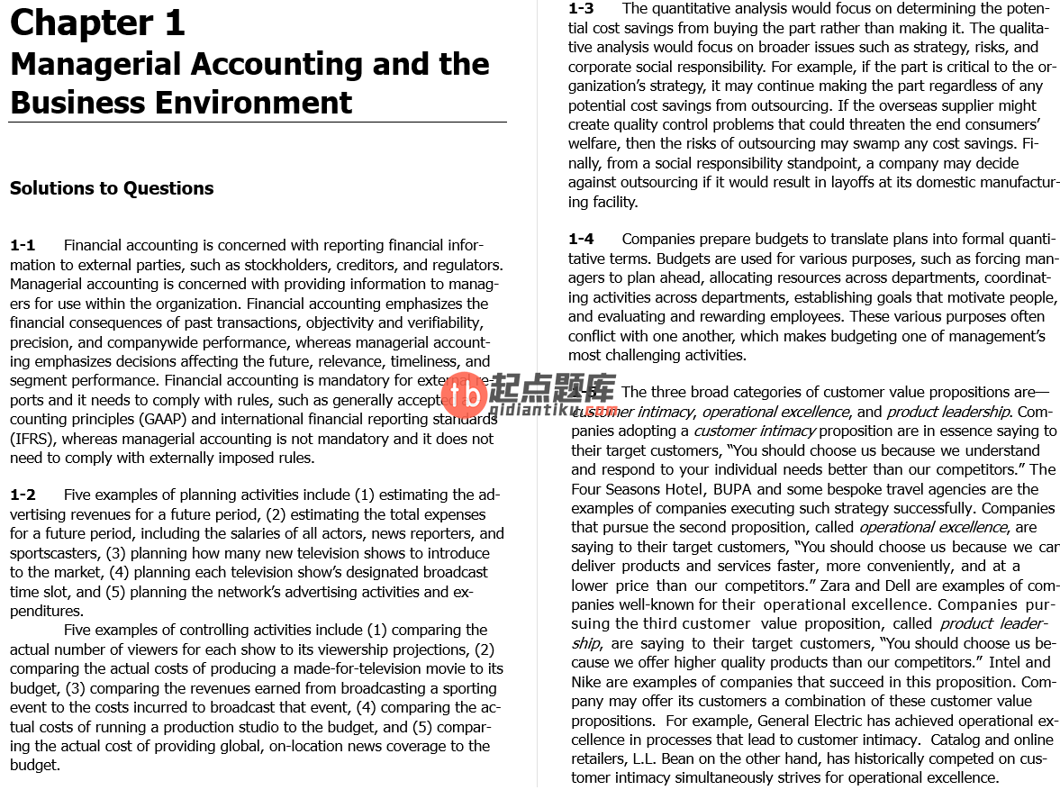 solution manual for Managerial Accounting 2nd Asia Global edition的图片 4