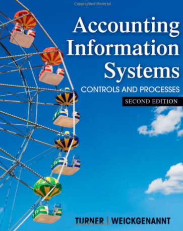test bank for Accounting Information Systems: The Processes and Controls 2nd Edition的图片 1