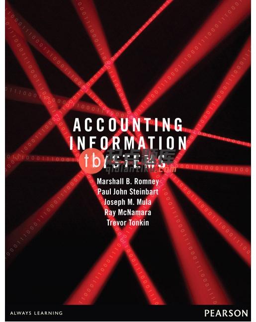 solution manual for Accounting Information Systems Australasian edition by Romney的图片 1