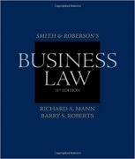 test bank for Smith and Roberson's Business Law 15th Edition