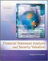 solution manual for Financial Statement Analysis and Security Valuation 5th Edition的图片 1
