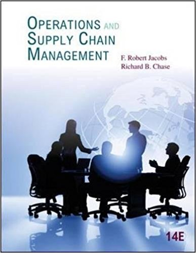 solution manual for Operations and Supply Chain Management 14th Edition的图片 1