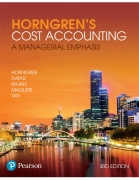solution manual for Horngren's Cost Accounting: A Managerial Emphasis 3rd Australian edition