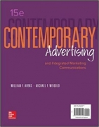 test bank for Contemporary Advertising and Integrated Marketing Communications 15th edition