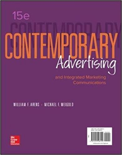 test bank for Contemporary Advertising and Integrated Marketing Communications 15th edition的图片 1