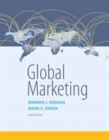 test bank for Global Marketing 9th Edition的图片 1