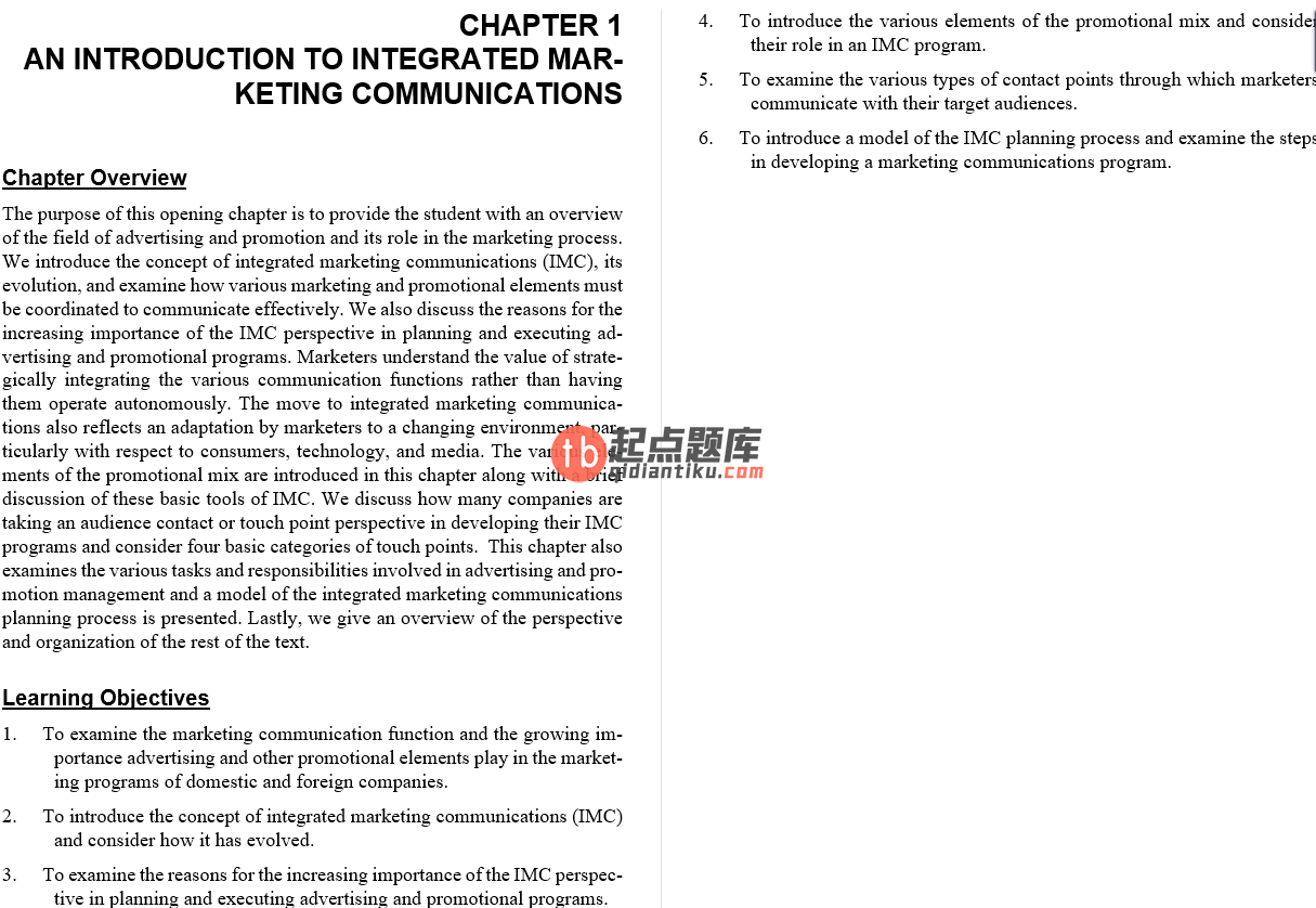 solution manual for Advertising and Promotion: An Integrated Marketing Communications Perspective 10th Edition的图片 3