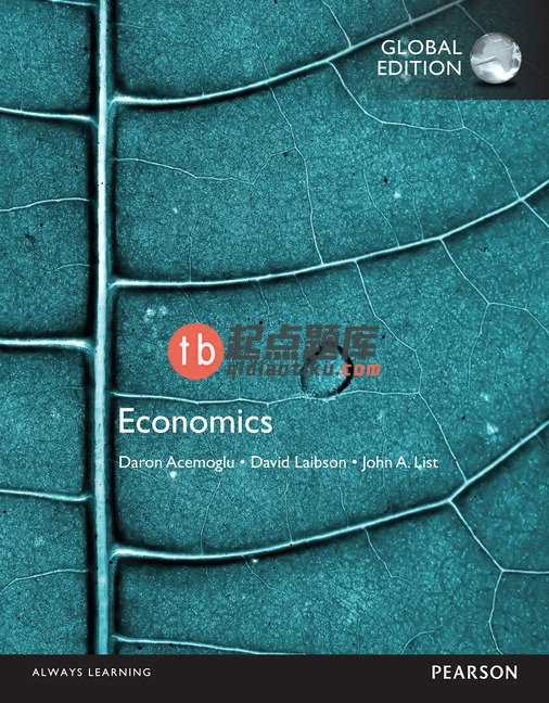 solution manual for Economics Global Edition by Daron Acemoglu的图片 1