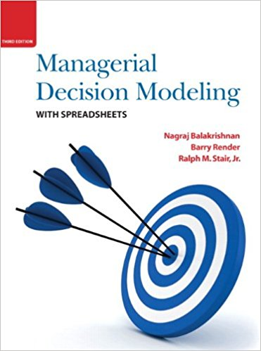 test bank for Managerial Decision Modeling with Spreadsheets 3rd Edition的图片 1