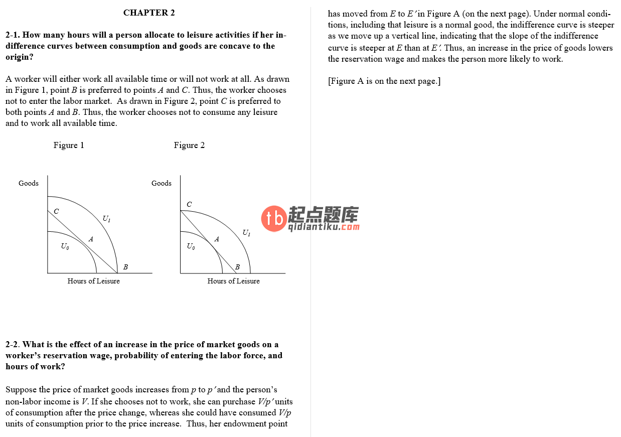 solution manual for Labor Economics 7th Edition的图片 3