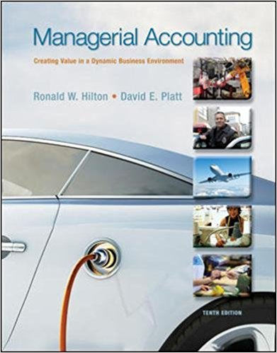 test bank for Managerial Accounting: Creating Value in a Dynamic Business Environment 10th Edition的图片 1