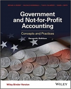 solution manual for Government and Not-for-Profit Accounting Concepts and Practices 7th Edition