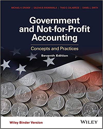 test bank for Government and Not-for-Profit Accounting Concepts and Practices 7th Edition的图片 1