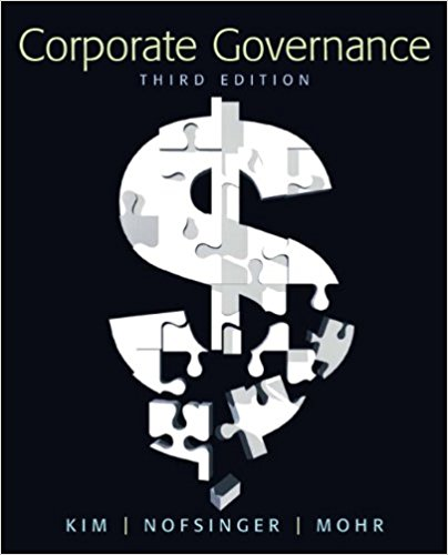 test bank and solution manual for Corporate Governance 3rd Edition的图片 1