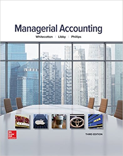 solution manual for Managerial Accounting 3rd Edition的图片 1