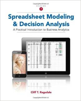 test bank for Spreadsheet Modeling and Decision Analysis 7th Edition的图片 1