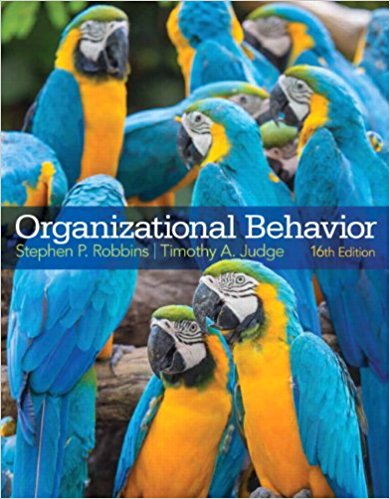 solution manual for Organizational Behavior 16th Edition的图片 1