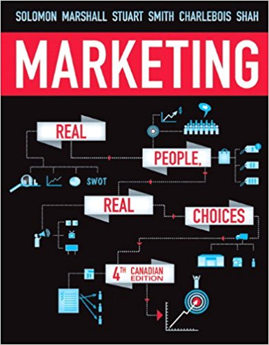 test bank for Marketing: Real People, Real Choices, 4th Canadian Edition的图片 1
