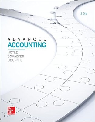 test bank for Advanced Accounting 13th Edition by Joe Ben Hoyle的图片 1