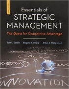 test bank for Essentials of Strategic Management: The Quest for Competitive Advantage 4th Edition