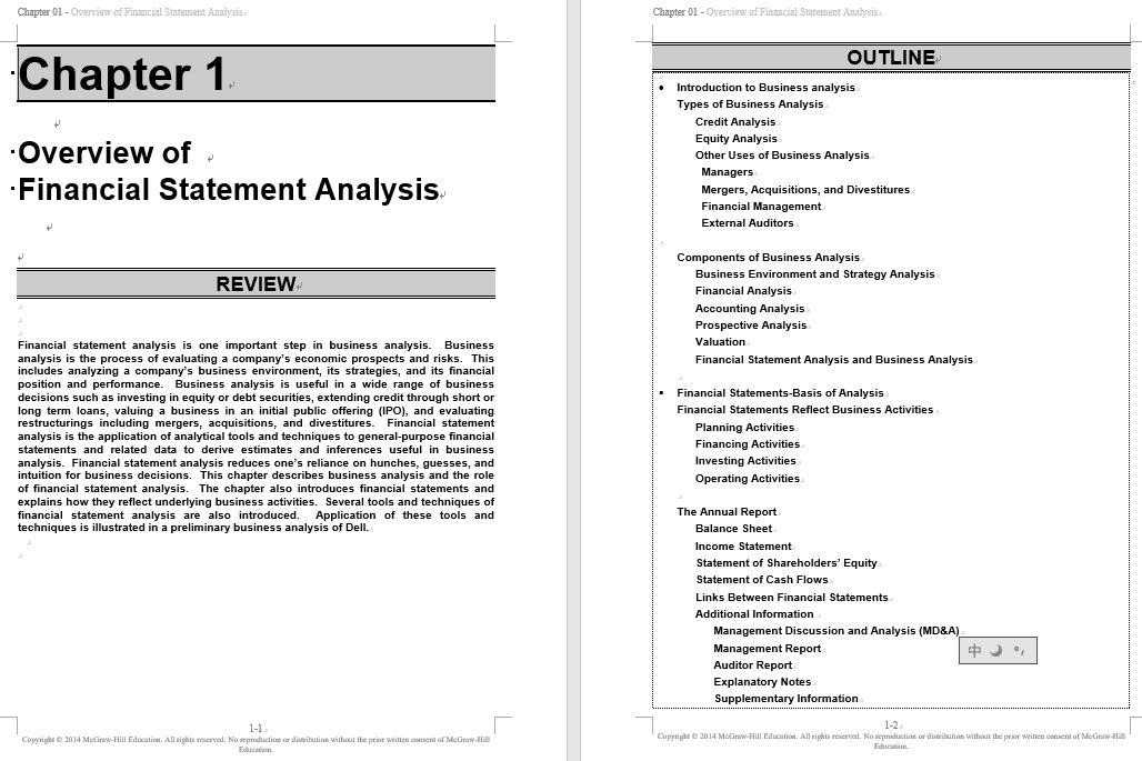 solution manual for Financial Statement Analysis 11th Edition的图片 3
