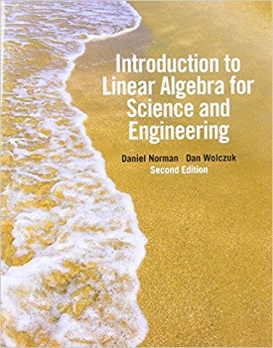 solution manual for Introduction to Linear Algebra for Science and Engineering 2nd Edition的图片 1