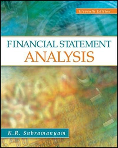 solution manual for Financial Statement Analysis 11th Edition的图片 1