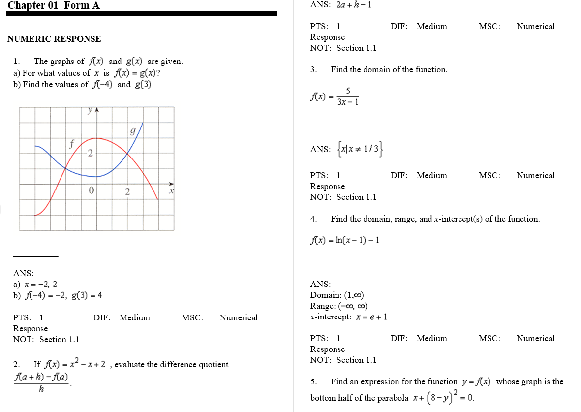 test bank for Calculus: Early Transcendentals 7th Edition的图片 3