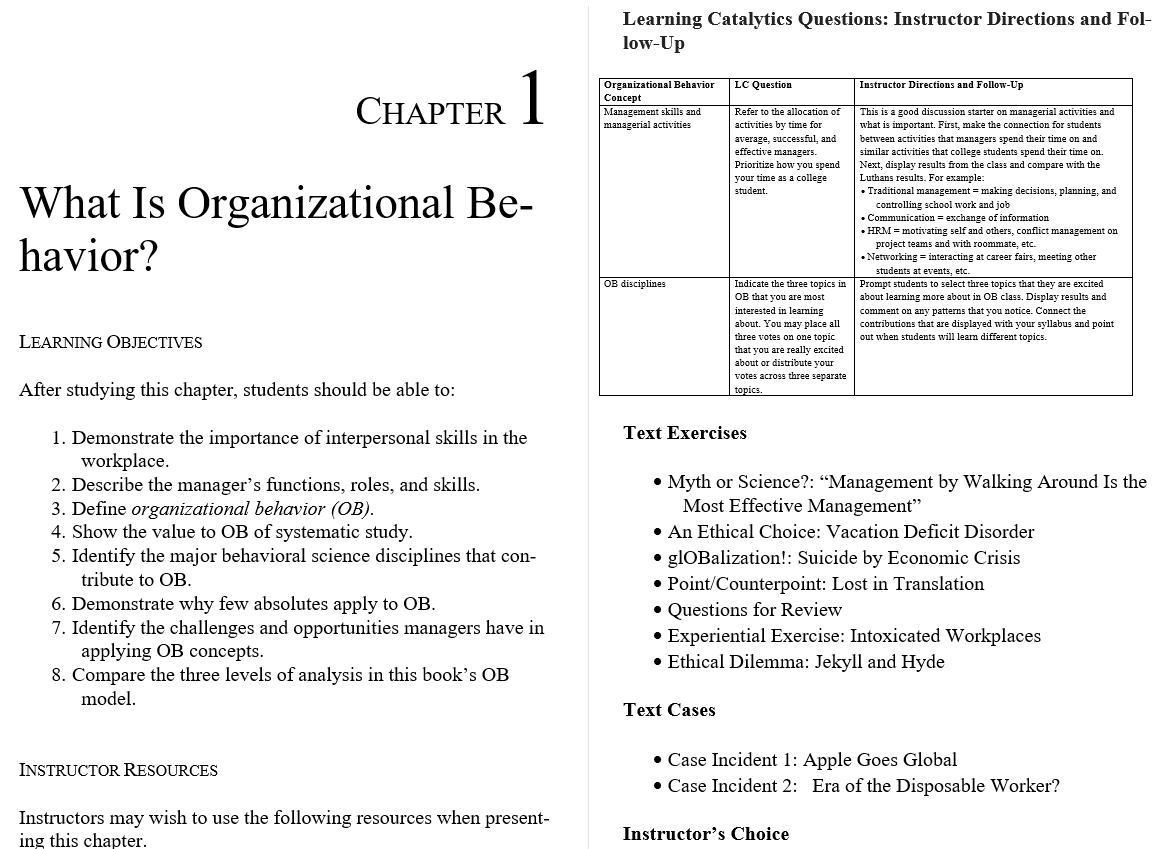 solution manual for Organizational Behavior 16th Edition的图片 3